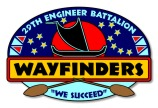 Logo for Wayfinders, 29th Engineer Battalion, U.S. Army, Fort Shafter, Hawaii